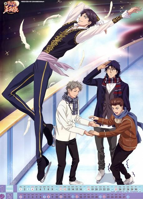 Takeshi Konomi, Production I.G, Prince of Tennis, Ryo Shishido, Yushi Oshitari