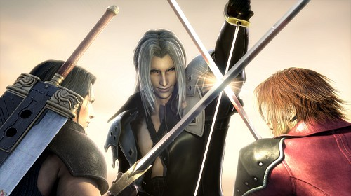 Square Enix, Final Fantasy VII: Crisis Core, Angeal Hewley, Sephiroth, Genesis Rhapsodos