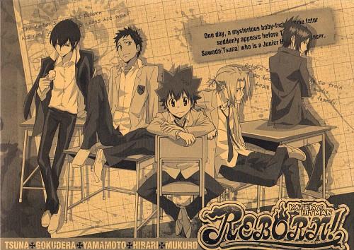 Akira Amano, Katekyo Hitman Reborn!, Hibird, Tsunayoshi Sawada, Mukuro Rokudo