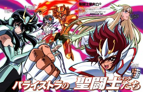 Toei Animation, Saint Seiya Omega, Orion Eden, Aquila Yuna, Pegasus Kouga