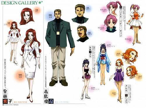 Hiro Suzuhira, Ginban Kaleidoscope, Kyouko Shitou, Tazusa Sakurano, Gabrielle Papie Pozzo