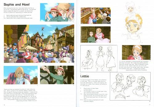 Studio Ghibli, Howl's Moving Castle, Howl Jenkins, Sophie Hatter, Lettie