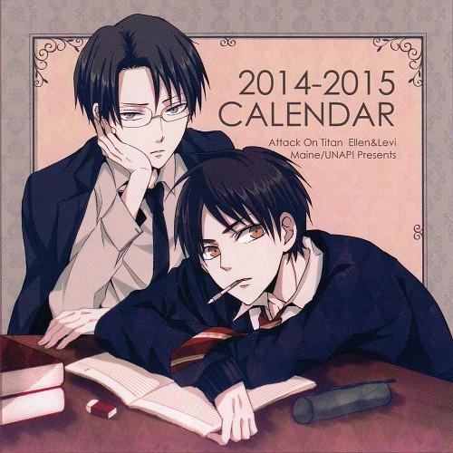 Shingeki no Kyojin 2014-2015 Calendar