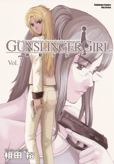 Madhouse, Gunslinger Girl, Claes, Flanca