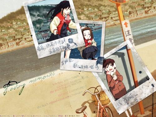 Brains Base, Kamichu, Matsuri Saegusa, Yurie Hitotsubashi, Mitsue Shijo Wallpaper