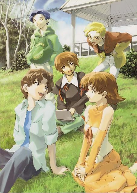 RGB, Hisashi Hirai, Sunrise (Studio), Mobile Suit Gundam SEED, Kira Yamato