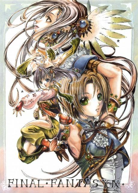 Green Glass, Final Fantasy IX, Eiko Carol, Zidane Tribal, Garnet Til Alexandros XVII