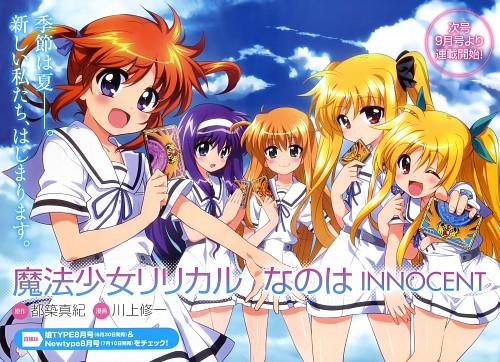 Shuuichi Kawakami, Mahou Shoujo Lyrical Nanoha Innocent, Suzuka Tsukimura, Nanoha Takamachi, Fate Testarossa