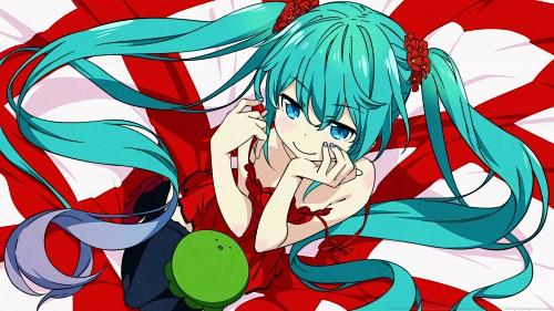 Hiro Kanzaki, Vocaloid, Miku Hatsune, Vector Art Wallpaper