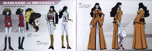 Takahiro Kimura, Sunrise (Studio), Lelouch of the Rebellion, Marianne Vi Britannia, Character Sheet