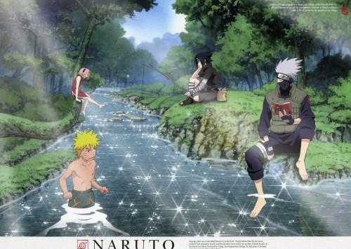 Studio Pierrot, Naruto, Kakashi Hatake, Sasuke Uchiha, Sakura Haruno