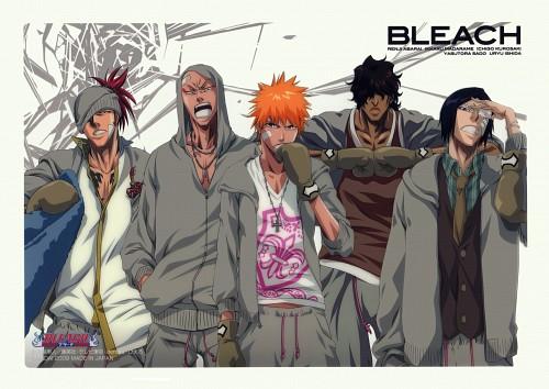 Studio Pierrot, Bleach, Ikkaku Madarame, Renji Abarai, Ichigo Kurosaki