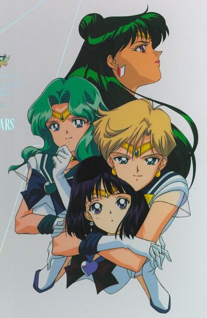Toei Animation, Bishoujo Senshi Sailor Moon, Sailor Neptune, Sailor Pluto, Sailor Saturn