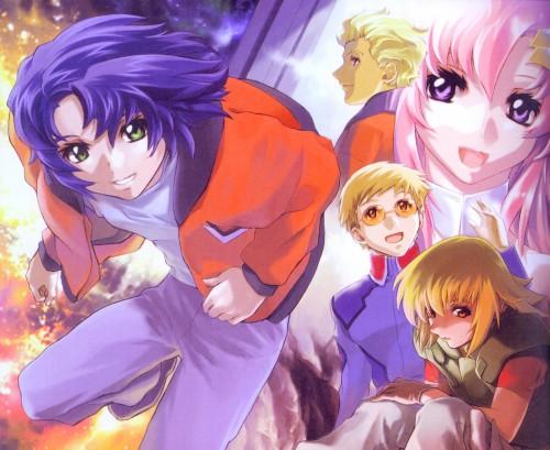 RGB, Sunrise (Studio), Mobile Suit Gundam SEED, Athrun Zala, Sai Argyle