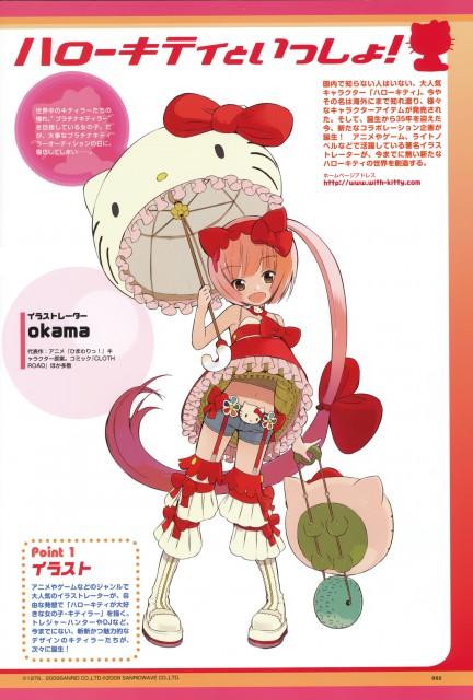 Okama, Sanrio, Hello Kitty to Issho!, Vocaloid, Iroha Nekomura