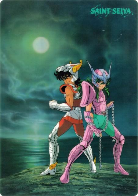 Masami Kurumada, Toei Animation, Saint Seiya, Andromeda Shun, Pegasus Seiya