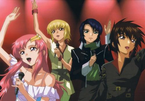 Sunrise (Studio), Mobile Suit Gundam SEED Destiny, Athrun Zala, Kira Yamato, Lacus Clyne