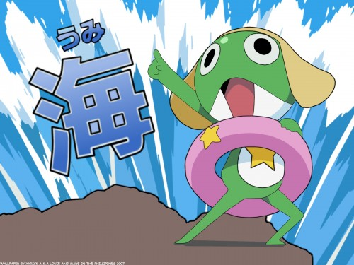 Mine Yoshizaki, Keroro Gunsou, Keroro, Vector Art Wallpaper