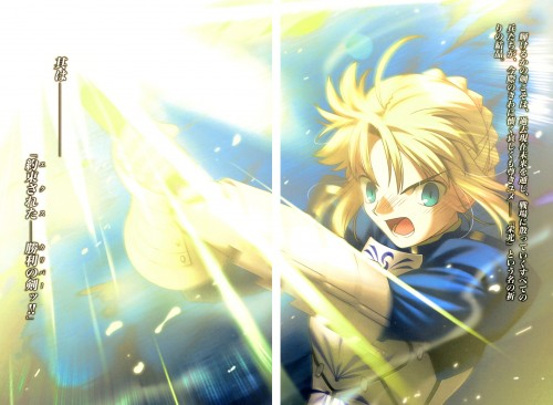 Takashi Takeuchi, TYPE-MOON, Ufotable, Fate/Zero, Saber