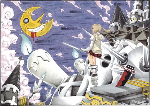 Atsushi Okubo, Soul Eater, Soul Art, Maka Albarn, Soul Evans