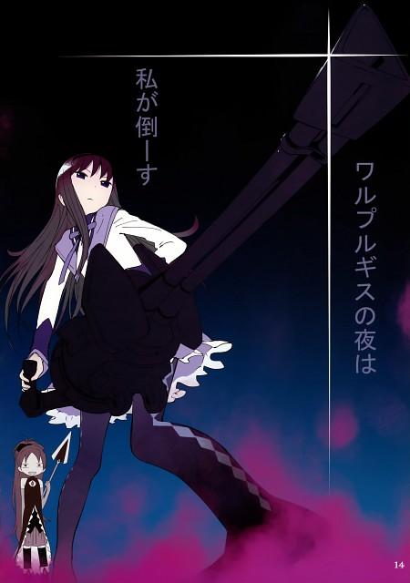 Shaft (Studio), Puella Magi Madoka Magica, Life of Negentropy, Homura Akemi, Kyouko Sakura
