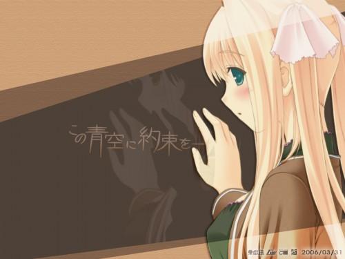 Artland, Giga, Kono Aozora ni Yakusoku wo, Umi Hayama, Official Wallpaper