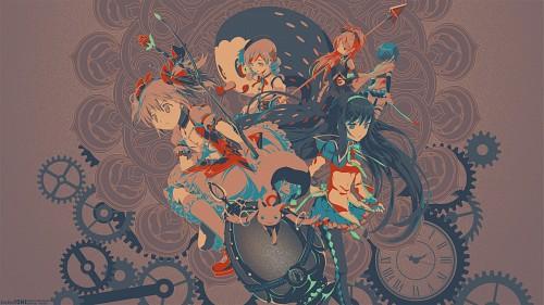 Shaft (Studio), Puella Magi Madoka Magica, Sayaka Miki, Kyouko Sakura, Homura Akemi Wallpaper