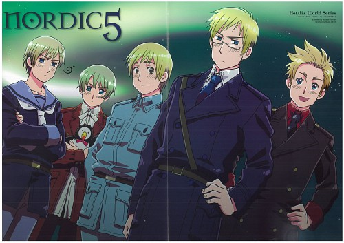 Hidekaz Himaruya, Studio DEEN, Hetalia: Axis Powers, Norway, Sweden