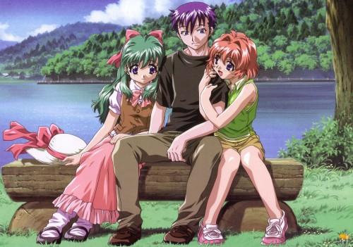 Onegai Twins, Karen Onodera, Miina Miyafuji, Maiku Kamishiro
