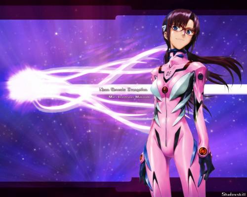 Yoshiyuki Sadamoto, Neon Genesis Evangelion, Makinami Mari Illustrious Wallpaper