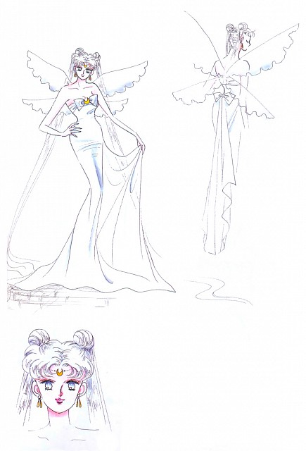 Naoko Takeuchi, Bishoujo Senshi Sailor Moon, BSSM Materials Collection, Queen Serenity, Character Sheet