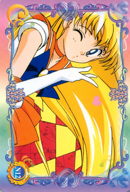 Toei Animation, Bishoujo Senshi Sailor Moon, Sailor Venus, Trading Cards
