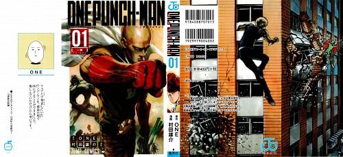 Yuusuke Murata, Onepunch-Man, Genos, Saitama, Manga Cover