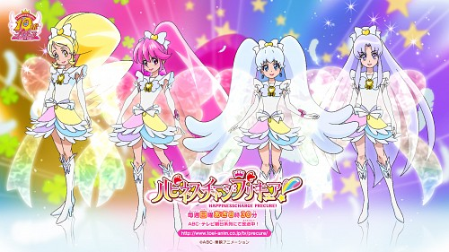 Toei Animation, HappinessCharge Precure!, Cure Fortune, Cure Honey, Cure Princess