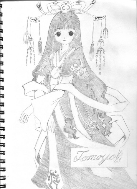 CLAMP, Tsubasa Reservoir Chronicle, Tomoyo Daidouji, Member Art