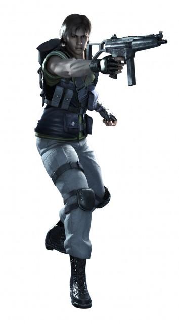 Capcom, Resident Evil: The Umbrella Chronicles, Carlos Olivera