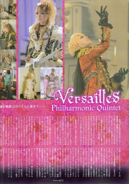 Versailles: Philharmonic Quintet, Yuki, Teru, Hizaki, Kamijo
