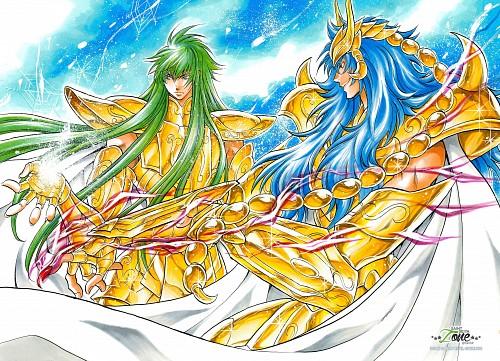 Shiori Teshirogi, TMS Entertainment, Saint Seiya: The Lost Canvas, Aquarius Degel, Scorpio Kardia
