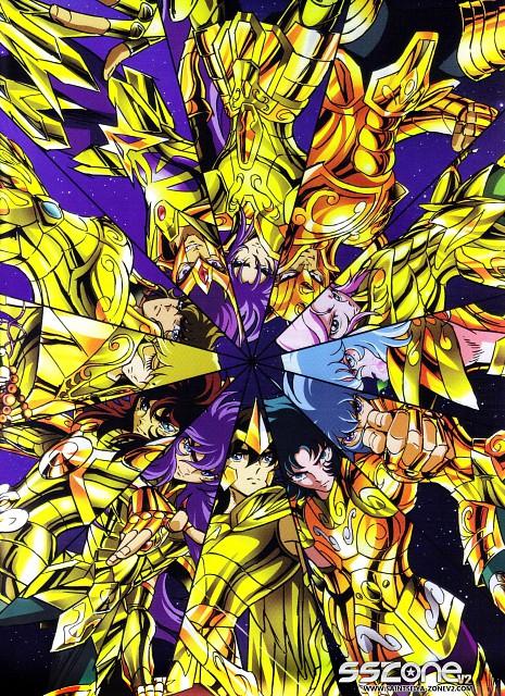 Masami Kurumada, Toei Animation, Saint Seiya, Capricorn Shura, Scorpio Milo