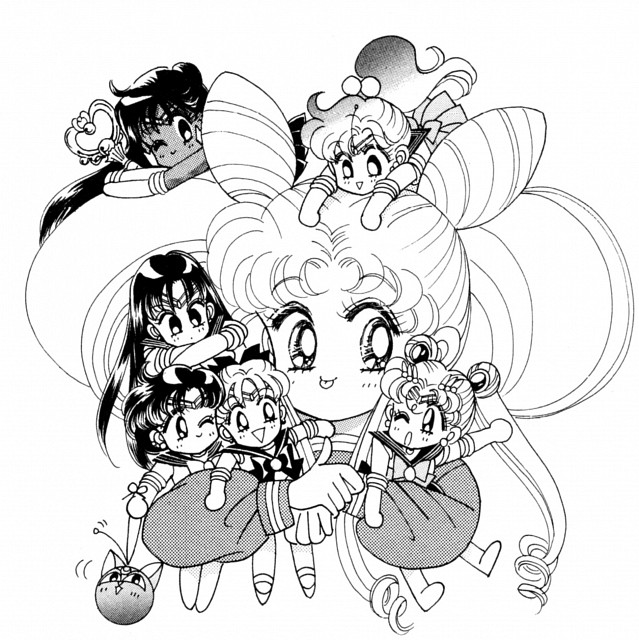 Naoko Takeuchi, Bishoujo Senshi Sailor Moon, Sailor Venus, Luna-P, Sailor Mercury