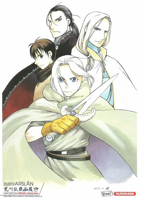Hiromu Arakawa, SANZIGEN, Heroic Legend of Arslan (Hiromu Arakawa), Narsus (Hiromu Arakawa), Arslan (Hiromu Arakawa)