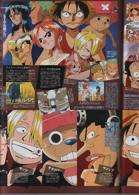 Eiichiro Oda, Toei Animation, One Piece, Sanji, Nico Robin