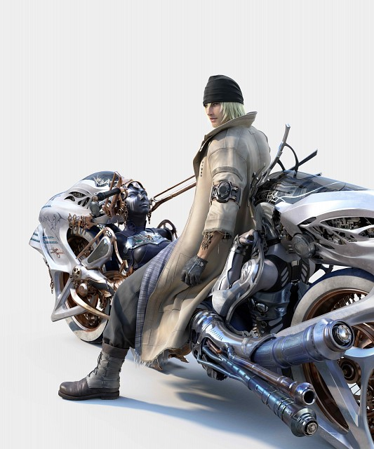 Square Enix, Final Fantasy XIII, Snow Villiers, Shiva (Final Fantasy)