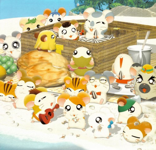 Ritsuko Kawai, TMS Entertainment, Hamtaro, Boss (Hamtaro), Jingle