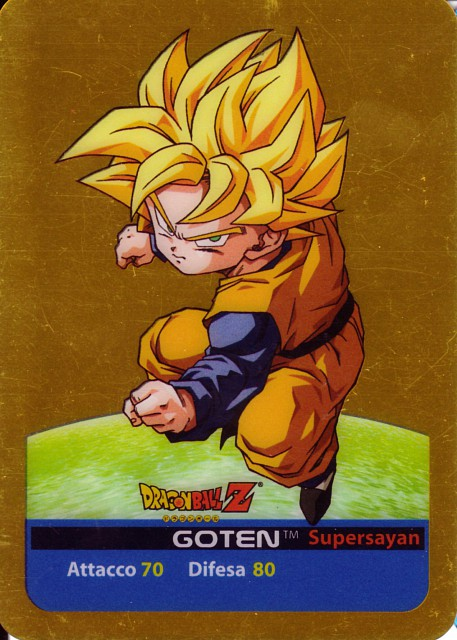 Akira Toriyama, Toei Animation, Dragon Ball, Super Saiyan Goten, Trading Cards