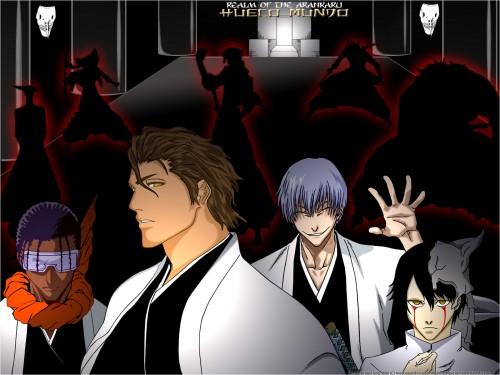 Kubo Tite, Studio Pierrot, Bleach, Gin Ichimaru, Kaname Tousen Wallpaper