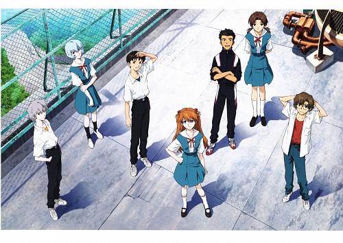 Yoshiyuki Sadamoto, Gainax, Neon Genesis Evangelion, Carmine, Kensuke Aida