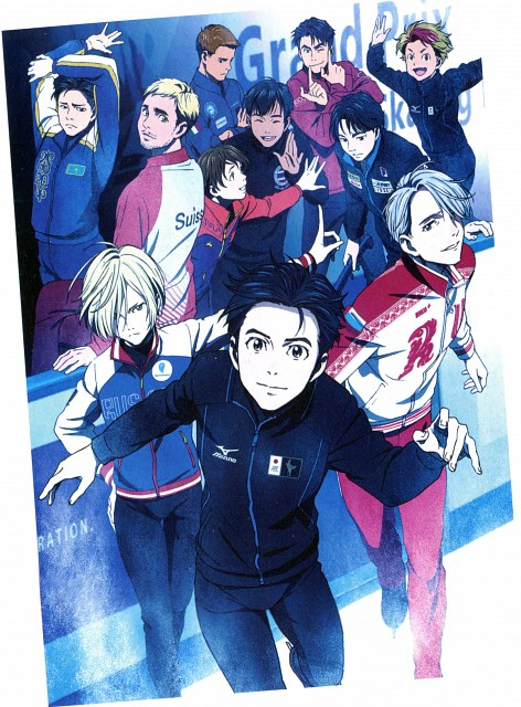 MAPPA, Yuri!!! On Ice, Yuri Katsuki, Seung-gil Lee, Michele Crispino