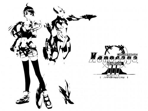 Xenosaga, Shion Uzuki, KOS-MOS Wallpaper
