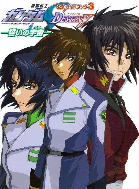Sunrise (Studio), Mobile Suit Gundam SEED Destiny, Kira Yamato, Athrun Zala, Shinn Asuka